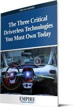The Three Critical Driverless Technologies You Must Own Today