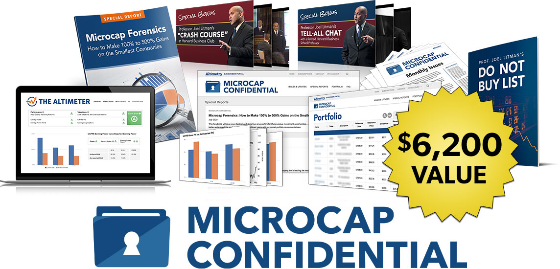 microcap financial cost