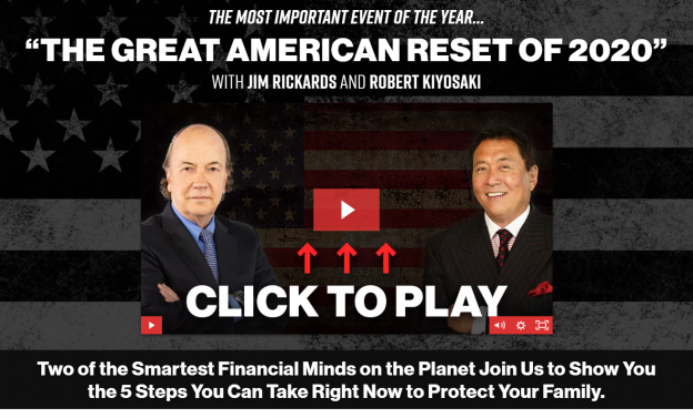 great american reset jim rickards robert kiyosaki