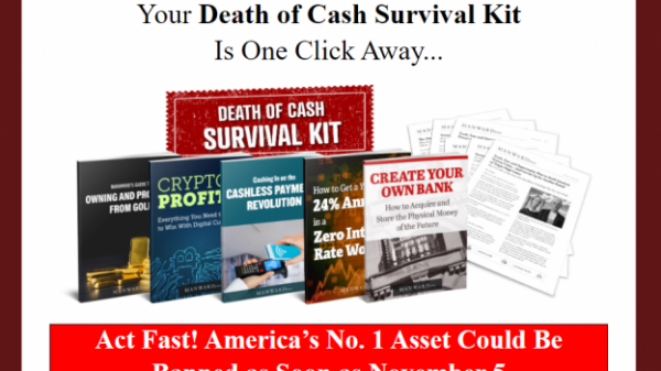 manward letter death of cash survival kit